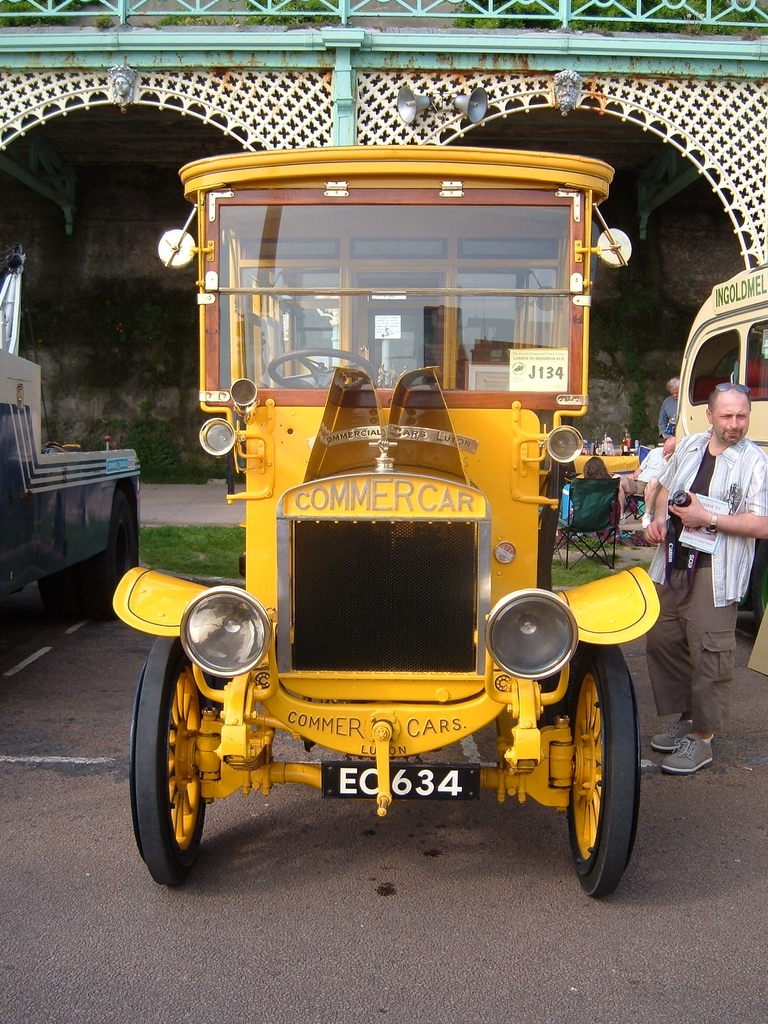 02 1907 Commer bus reg EC 634 1907
