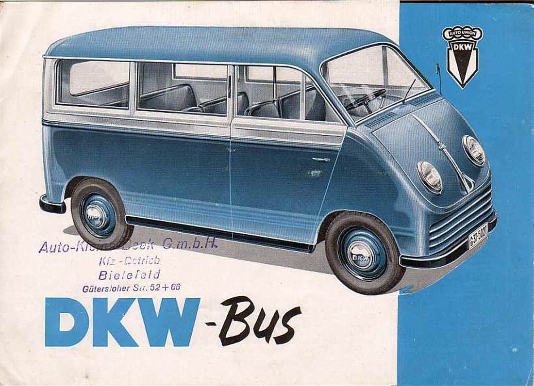 Buses dkw auto union germany myn transport blog for Garage auto l union