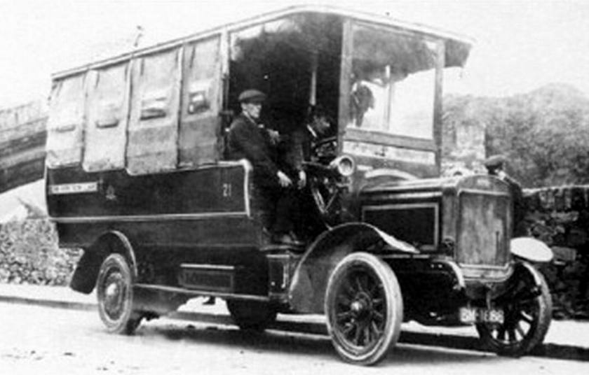 04 1910 Bussen Commer around 1910 - 1915 crosville