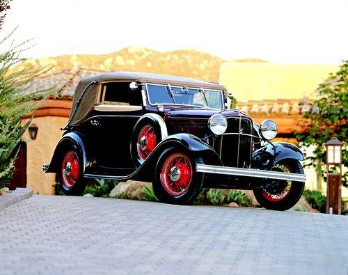 04 1932 Ford Cologne Classic The German-built 1932 Ford crafted by Drauz Karosseriewerke