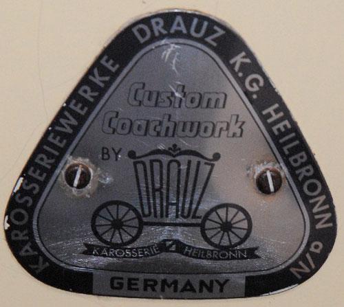 05 drauz badge brass screws chatley
