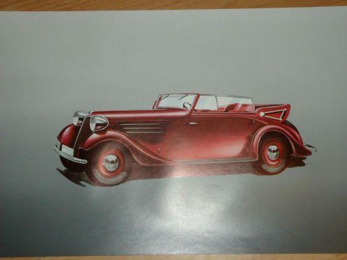 09 1936 Poster Drauz car
