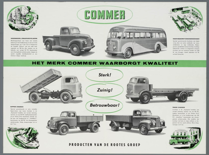 10 1952 Bussen Commer brochure 1