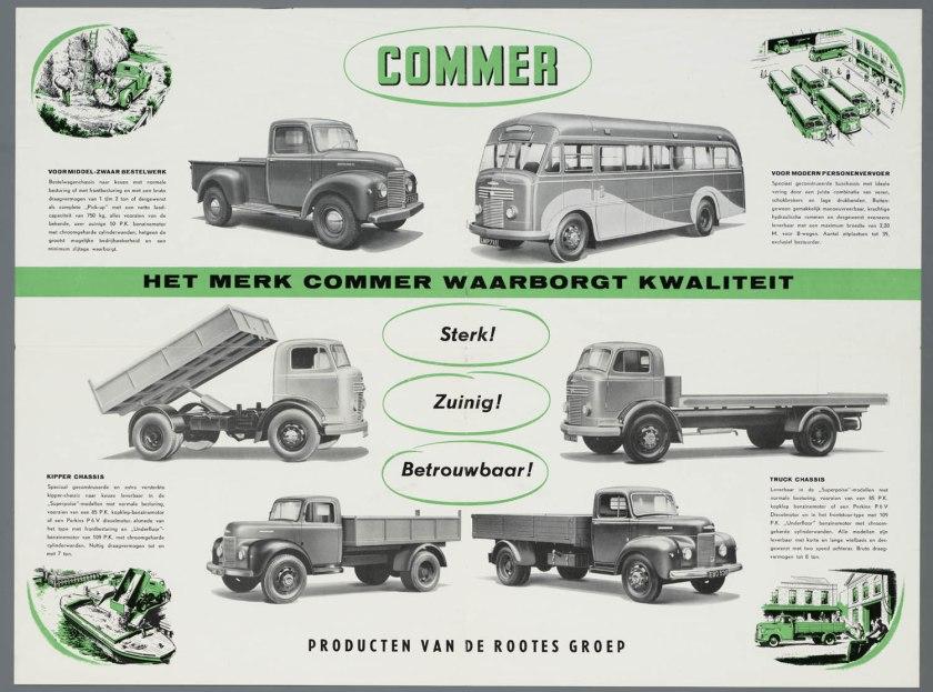10 1952 Bussen Commer brochure 1