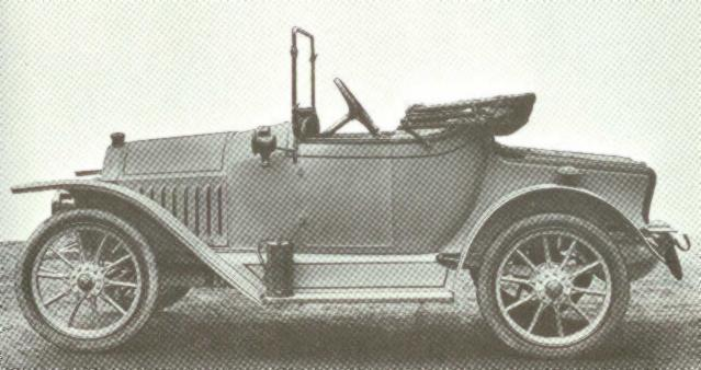 11 1914-1918 FN. Type 1250, 4-cyl. 1328cc