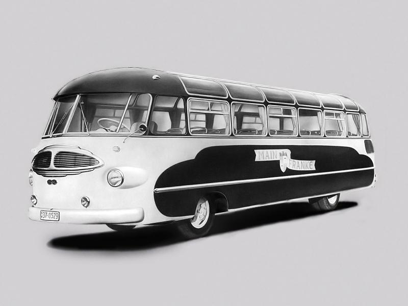 11 1951 Drauz DH 42 Leichtbus