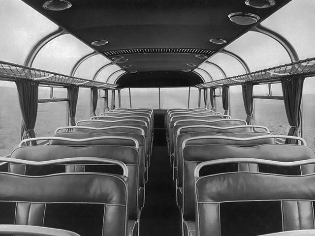 13 1951 Drauz DH 42 Leichtbus inside