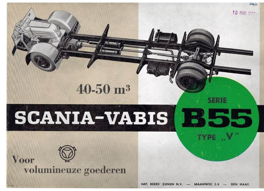 13 SCANIA-VABIS B55-Type V (S-1850)Beers NL