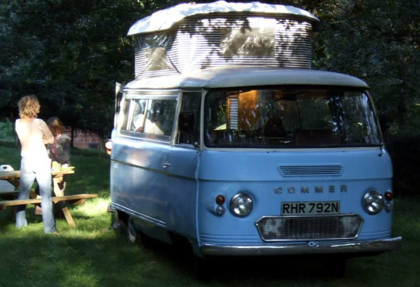 14 Bussen Commer Camper