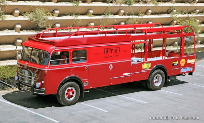14 Fiat 682-RN2 open deck Ferrari race car transporter Carrozzeria Bartoletti 1960a