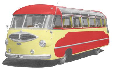 15 1954 Drauz DH 42 Leichtbus Ford GIYT 6cyl 3080cc