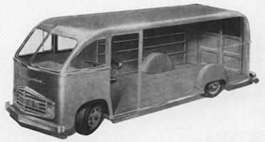 15 Beers geproduceerd deze opzienbarende Handyvan uit 1950