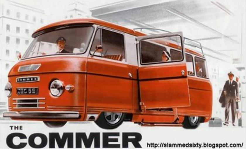 15 Bussen Commer Catalogue