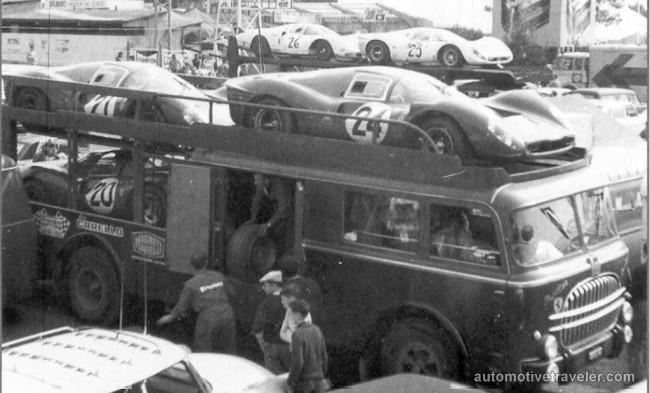 15 Fiat 682-RN2 open deck Ferrari race car transporter Carrozzeria Bartoletti 1960b