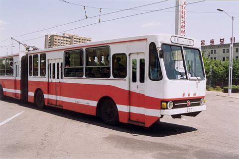 16 Pyongyuan Trolleybus