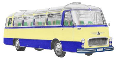 19 1958 Drauz DR 43 Ford AD V6 Motor