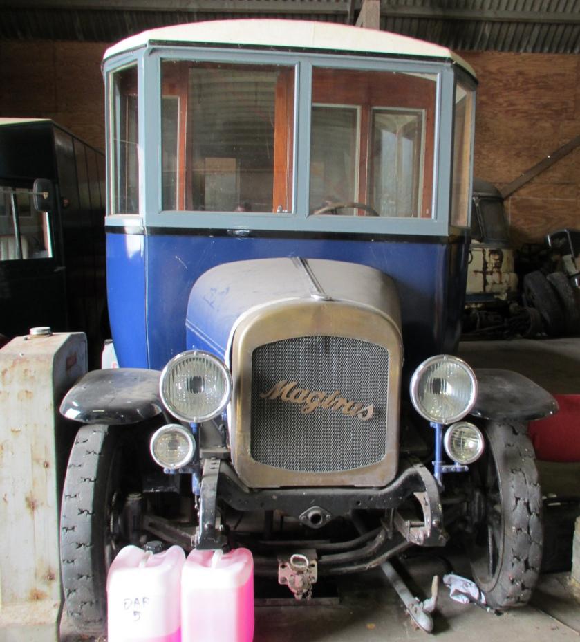 1924 Magirus Museumbus Amsterdam