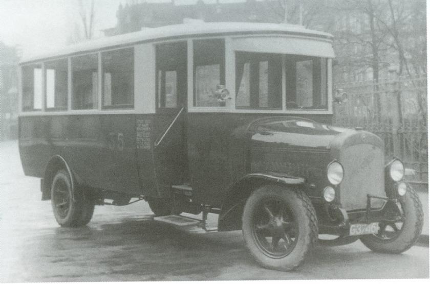 1925 Magirus-Deutz AG(D) M1007 1925 (via Geesink, Weesp) - Allan, Rotterdambusserie7