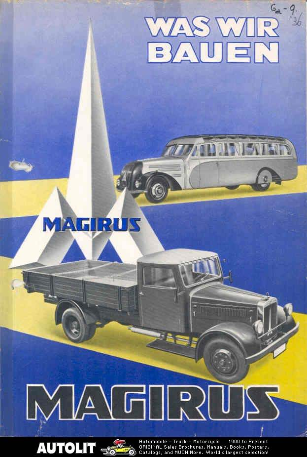 1936 MAGIRUS wo4626