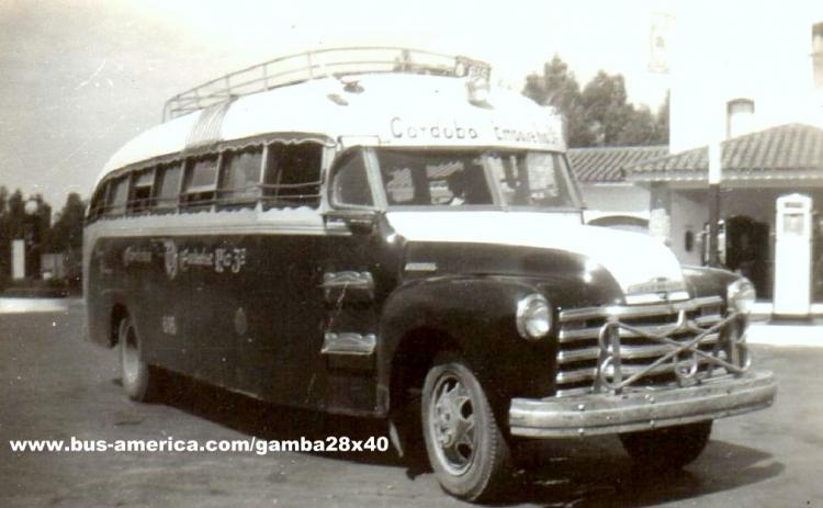 1947 Chevrolet Gamba Deracoli Hnos Cba