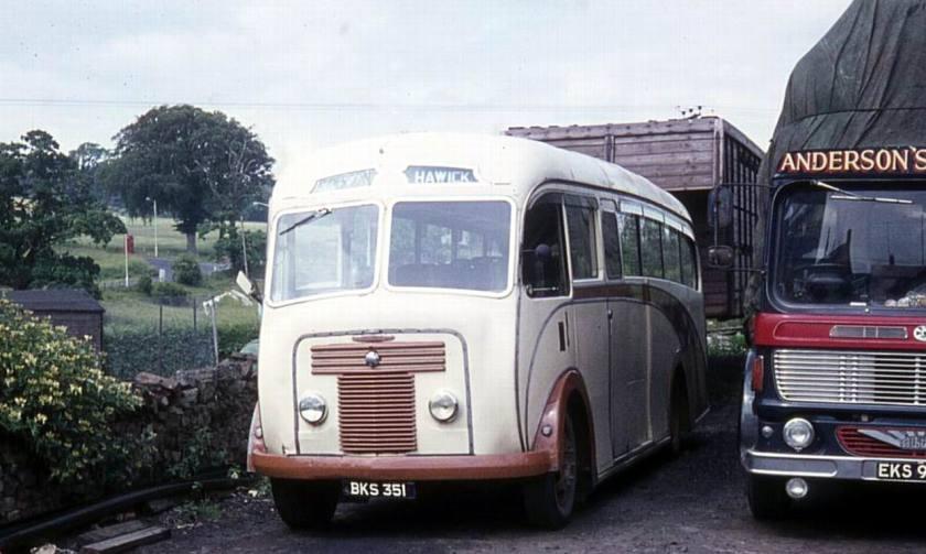 1950 Bussen Commer Avenger I built in 1950 with Plaxton C33F bodywork