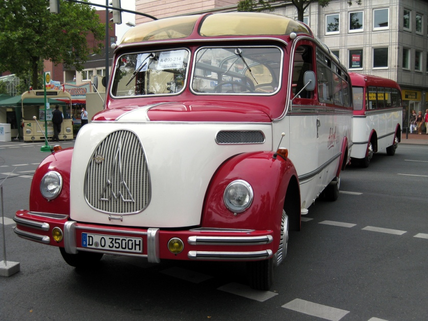 1951 Hamm  Westfalen (Germany) Old Magirus Deutz bus