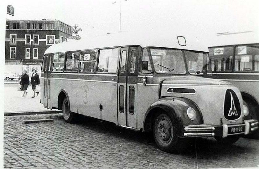 1951 Magirus Deutz De City 48