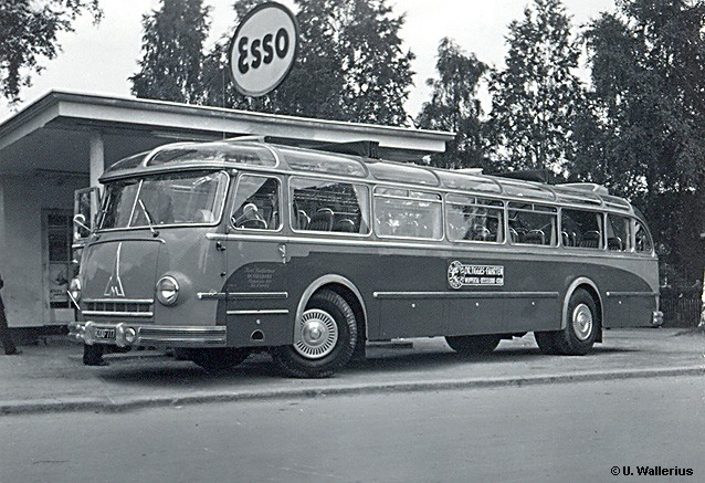 1951 Magirus O 6500 Reisebus