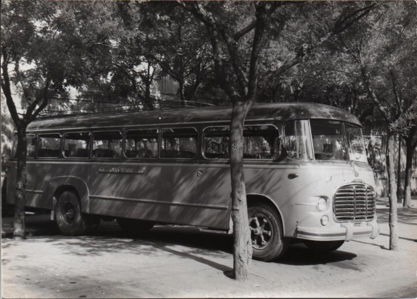 1956 Fiat 680 bus-storico