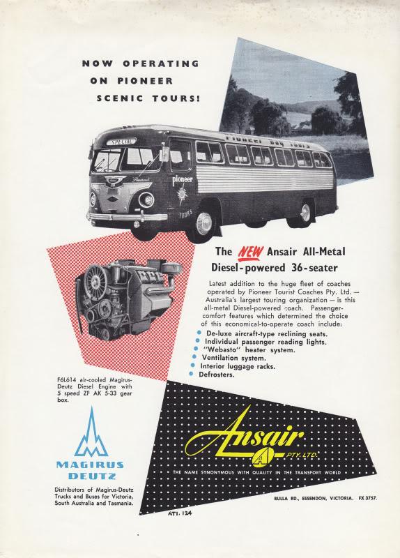 1956 Magirus Deutz Ansair Australia