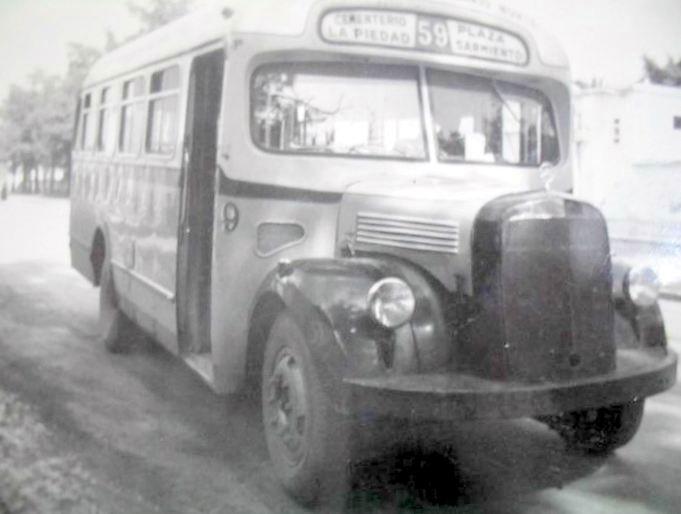 1956 Mercedes Benz L312 DERACOLI Hnos
