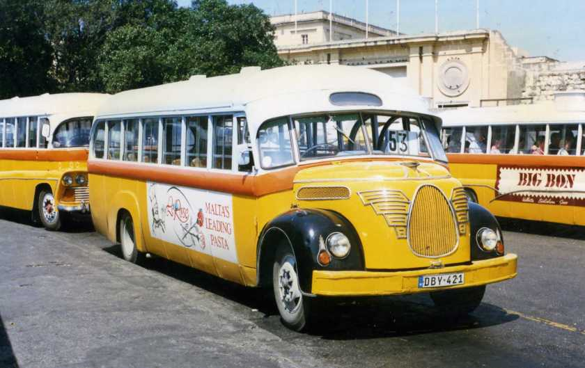 1956 The Magirus Deutz O3500 - Debono bus ex-no 1956 , Floriana,Malta 1996