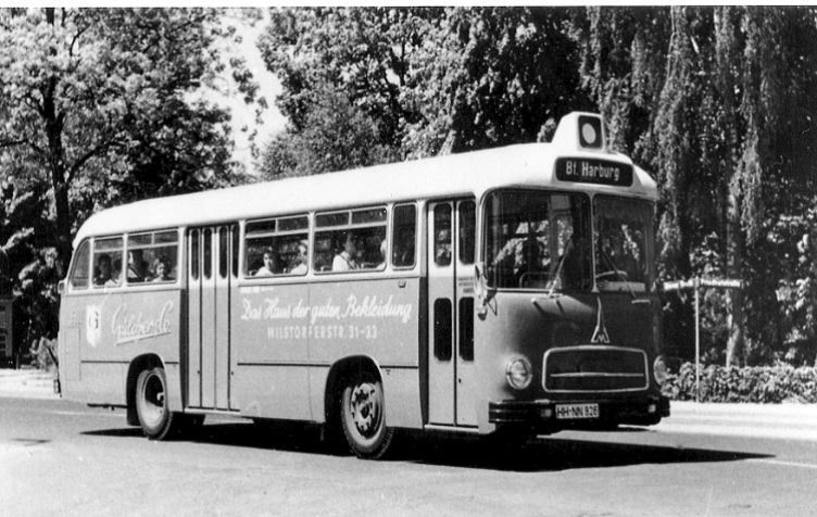 1958 Magirus Deuts O 3500 Hamburg