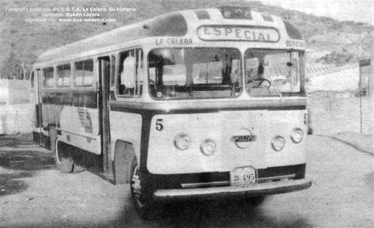 1959 Volvo Viking-Decaroli HNOS -Coop La Calera
