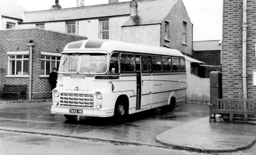 1960 Bussen Commer Avenger IV with Yeates C41F body, new to Moores in 1960