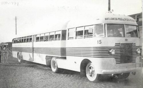 1960 Decaroli International camion bus