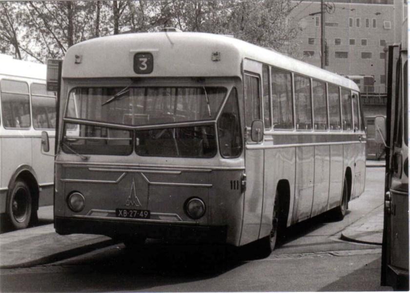 1964 Magirus Deutz De City 111 Eindhoven