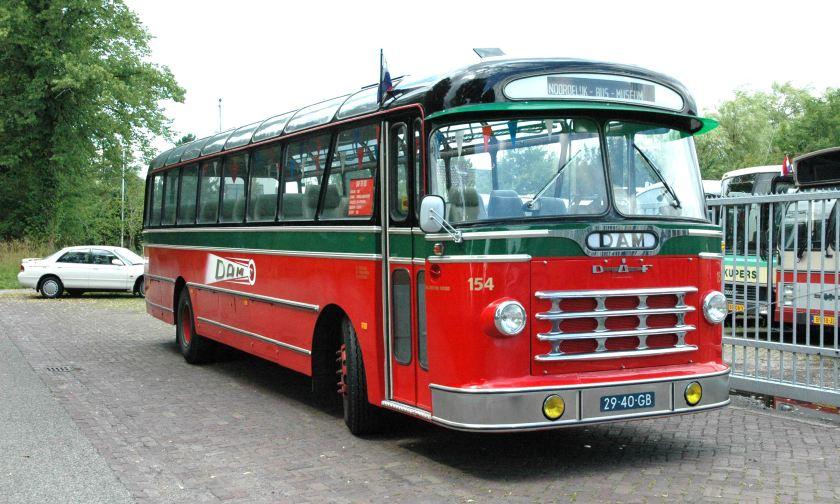 1965 DAF bus DAM 154,