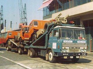 1965 DAF met oplegger vol Daf trucks
