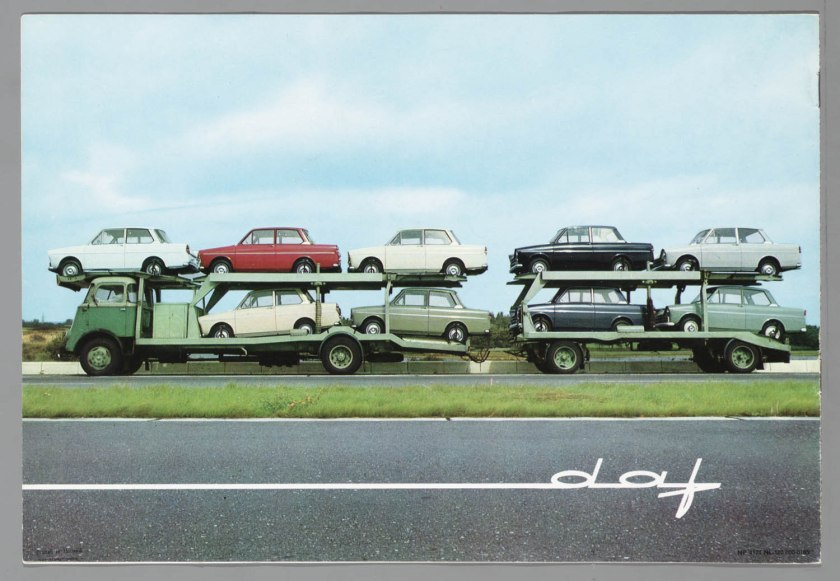 1965 DAF Oplegger met Daffodil's 31
