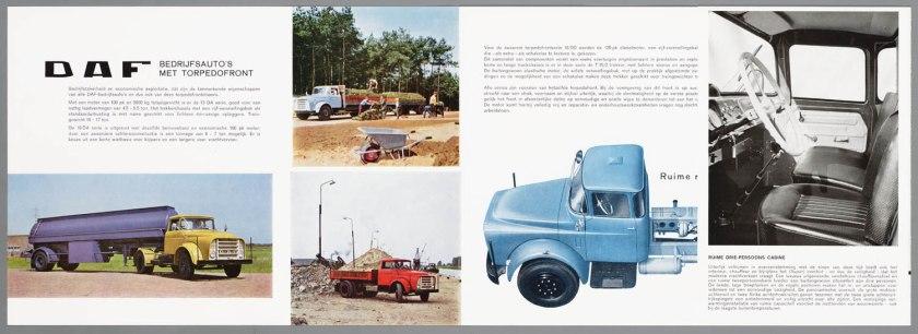1965 DAF serie 13-16DA-16DD torpedowagens b