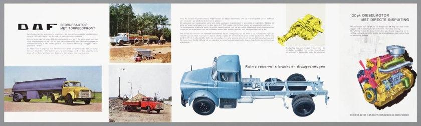1965 DAF serie 13-16DA-16DD torpedowagens c