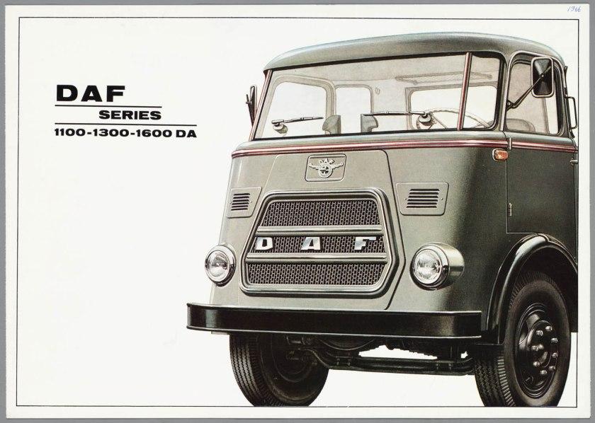 1966 DAF 1100, 1300, 1600 serie a