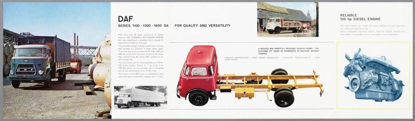 1966 DAF 1100, 1300, 1600 serie b