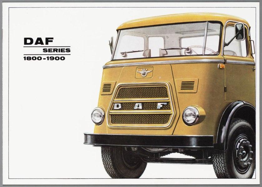 1966 DAF 1800-1900 serie a