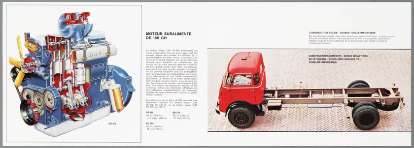 1966 DAF 1800-1900 serie c