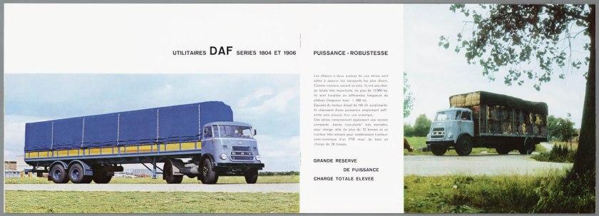1966 DAF 1800-1900 serie d