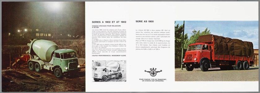 1966 DAF 1800-1900 serie f