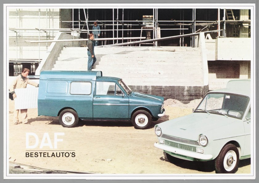 1966 DAF 32 Pick-up Bestel Combi a