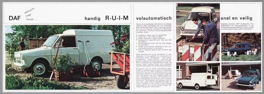 1966 DAF 32 Pick-up Bestel Combi b